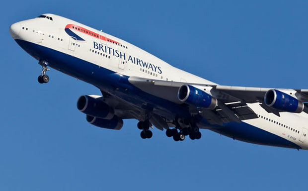 British Airways airplane