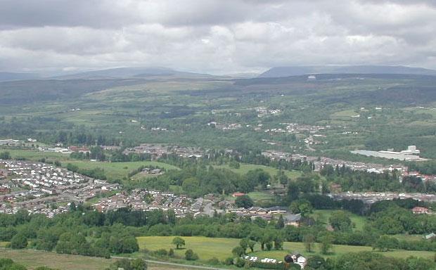 Rhondda Cynon Taff view